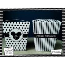 Souvenir Evento Caja Personalizada Disney Mickey Mouse Ratón