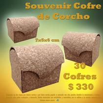 Cofre Para Souvenir De Corcho