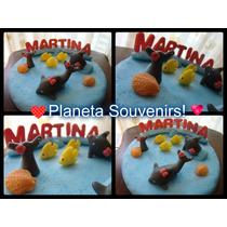 Centro Para Torta! Delfines! Cumples Infantiles! Porcelana