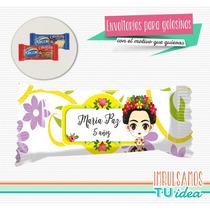 Frida - Envoltorio Chocolatín 8g Para Imprimir