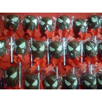Souvenir Paletas Chupetin De Chocolate De Hombre Araña