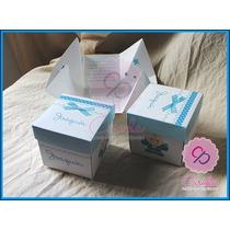 Tarjetas/invitaciones Formato Cajita X 10 Unidades