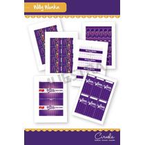 Willy Wonka! Kit De Etiquetas P/golosinas Para Imprimir!