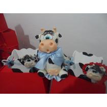 Suvenir Caramelero Vaquitax 10+tarjetita C/ Foto+vaca Centra