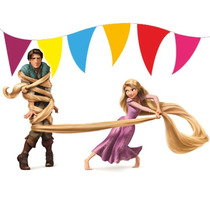 Super Kit Imprimible Enredados / Rapunzel - Editable