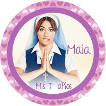 40 Stickers Personalizados P/ Cierra Bolsita Env.golosinas