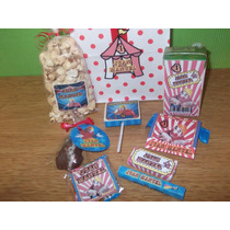 Circo - Candy Bar Premium Completo Para 20 Niños