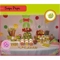 Sapo Pepe - Kit P/imprimir Con Texto Editable!!