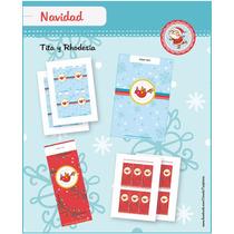 Kit Navideño Para Imprimir En Casa!