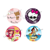 Etiquetas, Stickers Personalizados Para Golosinas...zona Sur