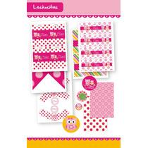 Lechucitas! Kit Para Imprimir - Nena