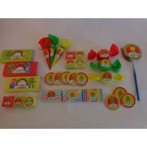 Golosinas Personalizadas Candy Bar Sapo Pepe - Combo 2