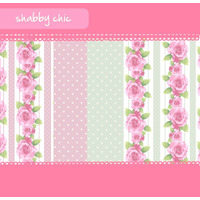 10 Papeles Digitales Para Imprimir - Shabby Chic Style