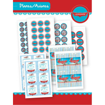 Kit De La Peli Aviones/planes! Para Imprimir En Casa!