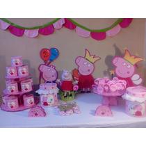 Ambientación Peppa Pig Cumpleaños