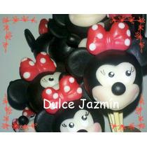 Pinches Para Gomitas Porcelana Fría Mickey, Minnie
