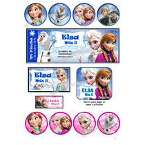 Etiquetas Personalizadas-candy Bar