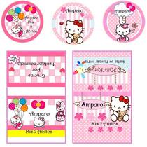 Etiquetas Stikers Para Golosinas Personalizadas Promocion