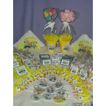 Mesa Dulce Candy Bar Tematico 20 Chicos Frozen Minnie Minion