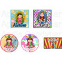 Stickers Personalizados Candy Bar Virgencita Porfis