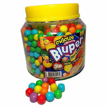 Bluper Chicle Bolita Pote 800 Bolitas Tutti Frutti 1,1 Kilo