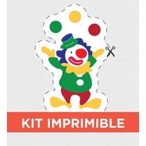 Kit Imprimible Circo Personalizado Para Cumple