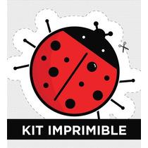 Kit Imprimible Vaquita San Antonio Personalizado Para Cumple