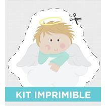 Kit Imprimible Personalizado Para Bautismo Y Comunión