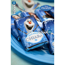 Candy Bar Frozen Golosinas Personalizadas 200 Golosinas