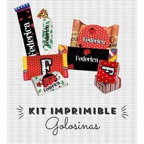 Kit Imprimible Vaquita San Antonio Golosinas Souvenirs