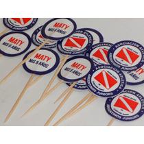 44 Toppers Para Cupcakes - Muffins Personalizados - Futbol