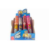 Minions Caramelos Spray Pop X12un Superoferta La Golosineria