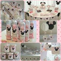 Candy Bar Minnie! Souvenirs! Golosinas Personalizadas