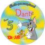 Imágenes Tom Y Jerry Etiquetas Golosinas Plantillas