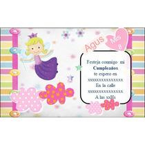 Kit Imprimible Haditas- Bolsitas - Invitaciones - Candy