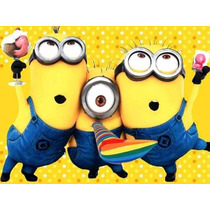 Kit Imprimible Minions Y Mi Villano Favorito Tarjetas -candy