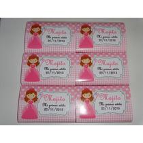 Candy Bar Primer Añito Princesa Coronita Golosinas