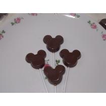 Chupetines / Paletas Chocolate Mickey- Minnie