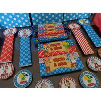 Candy Bar Jake Y Los Piratas Golosinas Personalizadas