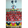 Mickey Mouse - Candy Bar Premium Completo Para 20 Niños
