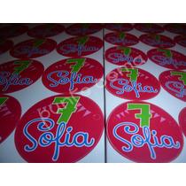 Etiquetas Golosinas Personalizadas Candy Bar Cumpleaños