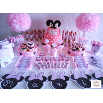 Candy Bar 60 Golosinas Personalizadas Temático 15 Invitados
