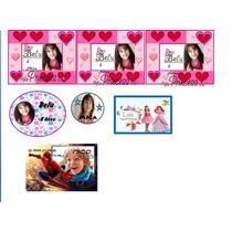 Stickers Autoadhesivos Para Candy Bar
