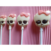 Paleta Chupetin Chocolate Monster High Calavera