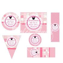 Kit Imprimible Para Golosinas Personalizadas Minnie Shabby