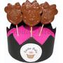 Chupetines De Chocolate De Minnie Ideal Souvenirs Tb Mickey