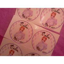 Etiquetas Para Candy Bar Princesita Sofia Golosinas