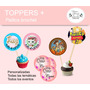 Toppers Para Cupcakes + Palito De Brochet