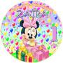 Kit Digital Minnie Baby Imprimible Fiesta Temática