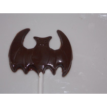 Paletas / Chupetines De Chocolate Batman / Murcielago